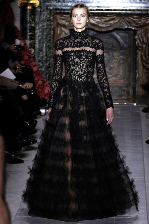 40 Black Mesh Long Dresses Ideas 30