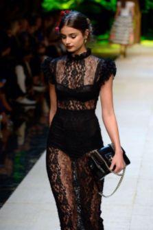 40 Black Mesh Long Dresses Ideas 33