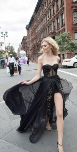 40 Black Mesh Long Dresses Ideas 35