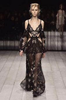 40 Black Mesh Long Dresses Ideas 9