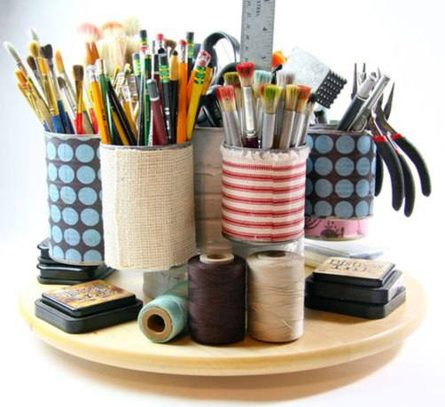 40 DIY Recycling Cans Ideas 14