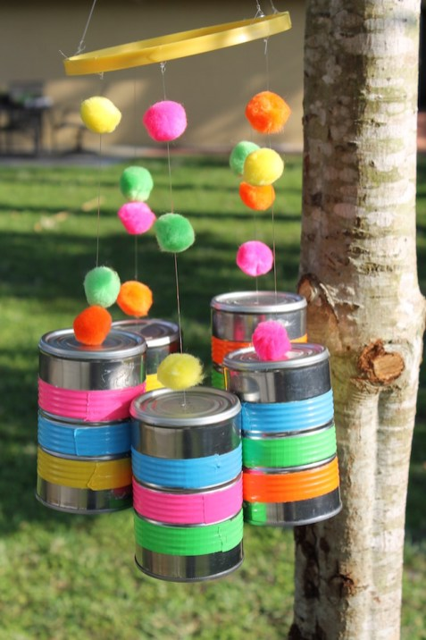 40 DIY Recycling Cans Ideas 24