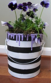 40 DIY Recycling Cans Ideas 9