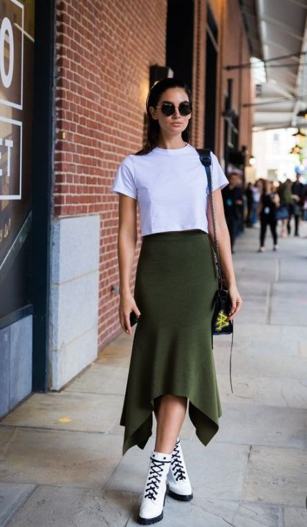 40 Fashionable Green Outfits Ideas 13
