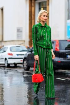 40 Fashionable Green Outfits Ideas 2
