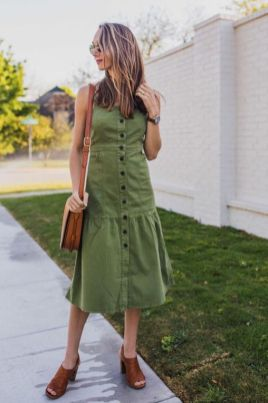40 Fashionable Green Outfits Ideas 30