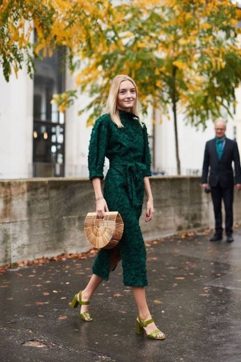 40 Fashionable Green Outfits Ideas 38