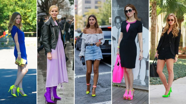 40 How to Wear Neon Shoes Ideas
