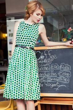 40 Polka Dot Dresses In Fashion Ideas 10