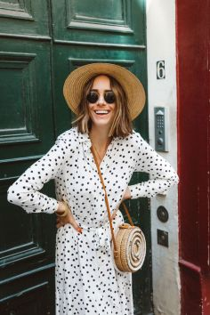 40 Polka Dot Dresses In Fashion Ideas 11