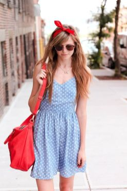 40 Polka Dot Dresses In Fashion Ideas 16
