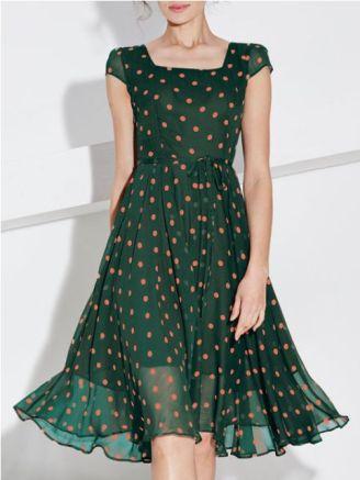 40 Polka Dot Dresses In Fashion Ideas 18