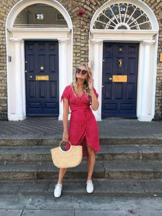 40 Polka Dot Dresses In Fashion Ideas 20