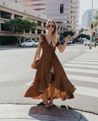 40 Polka Dot Dresses In Fashion Ideas 21