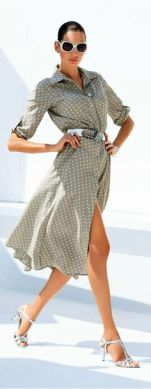 40 Polka Dot Dresses In Fashion Ideas 24