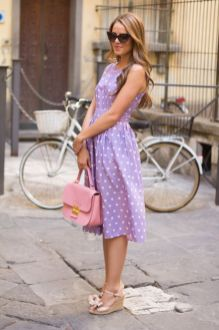 40 Polka Dot Dresses In Fashion Ideas 29