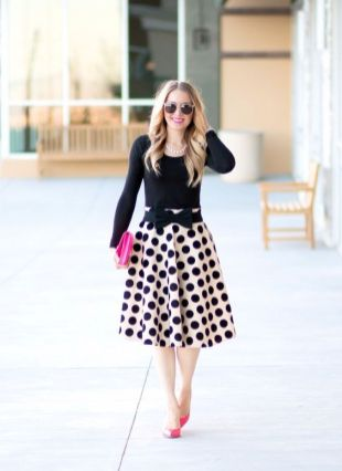 40 Polka Dot Dresses In Fashion Ideas 6