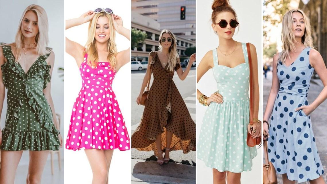 40 Polka Dot Dresses In Fashion Ideas