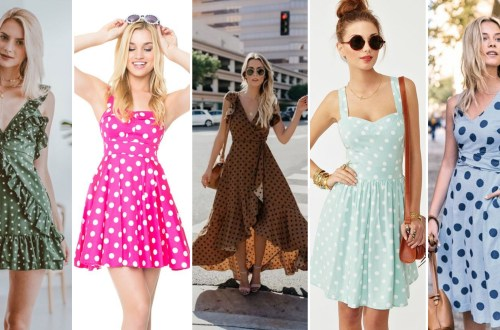 40 Polka Dot Dresses In Fashion Ideas