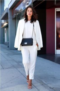 40 Ways to Look Stylish With White Heels Ideas 1
