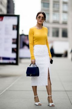 40 Ways to Look Stylish With White Heels Ideas 13