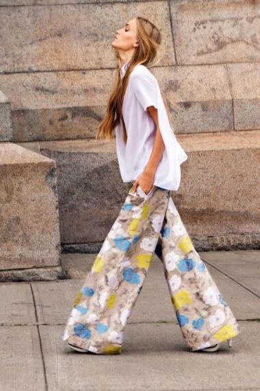 40 Ways to Wear Palazzo Pants for Summer Ideas 24