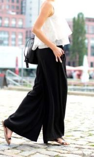 40 Ways to Wear Palazzo Pants for Summer Ideas 25