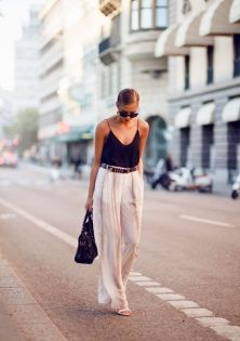 40 Ways to Wear Palazzo Pants for Summer Ideas 27