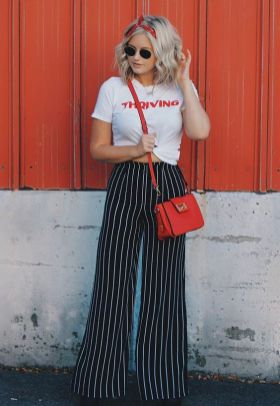 40 Ways to Wear Palazzo Pants for Summer Ideas 31