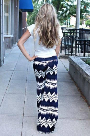 40 Ways to Wear Palazzo Pants for Summer Ideas 34