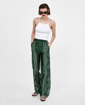 40 Ways to Wear Palazzo Pants for Summer Ideas 36