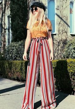 40 Ways to Wear Palazzo Pants for Summer Ideas 39
