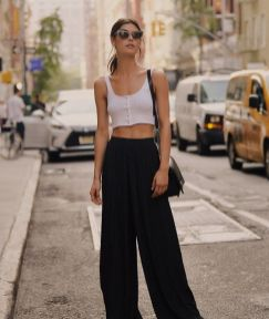 40 Ways to Wear Palazzo Pants for Summer Ideas 41
