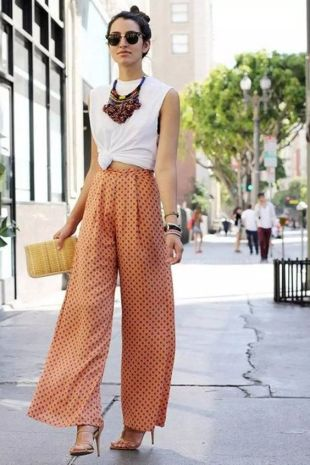 40 Ways to Wear Palazzo Pants for Summer Ideas 48