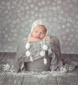 50 Cute Newborn Photos for Baby Girl Ideas 16