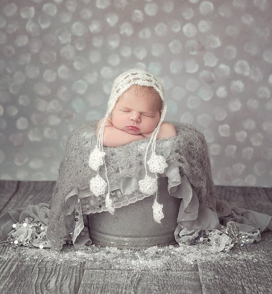 50 Cute Newborn Photos for Baby Girl Ideas 16