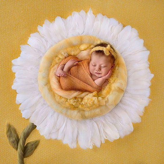 50 Cute Newborn Photos for Baby Girl Ideas 26
