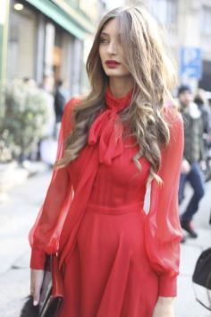 50 Fashionable Red Outfit Ideas 1