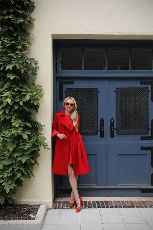 50 Fashionable Red Outfit Ideas 10