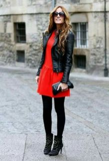 50 Fashionable Red Outfit Ideas 21