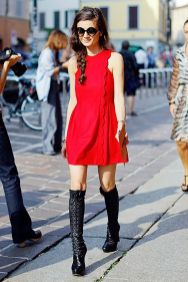 50 Fashionable Red Outfit Ideas 25