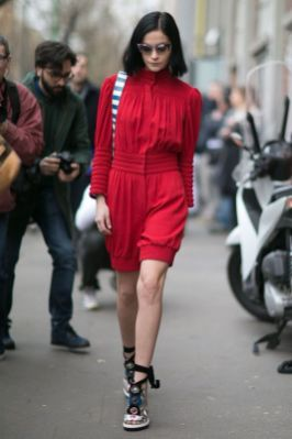 50 Fashionable Red Outfit Ideas 38