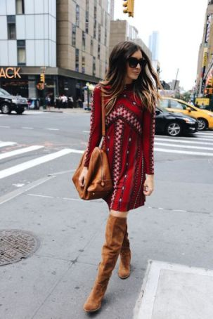 50 Fashionable Red Outfit Ideas 4