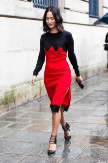 50 Fashionable Red Outfit Ideas 41