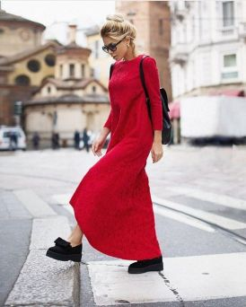 50 Fashionable Red Outfit Ideas 42