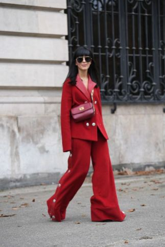 50 Fashionable Red Outfit Ideas 6