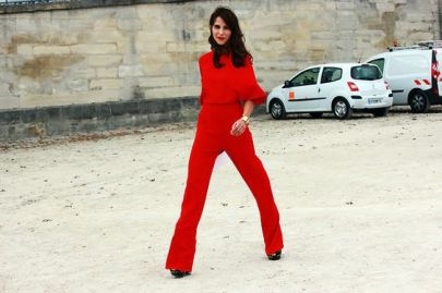 50 Fashionable Red Outfit Ideas 7