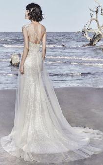 50 One Shoulder Bridal Dresses Ideas 15