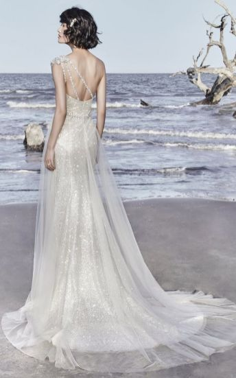50 One Shoulder Bridal Dresses Ideas 15