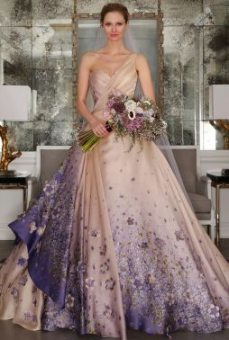 50 One Shoulder Bridal Dresses Ideas 23